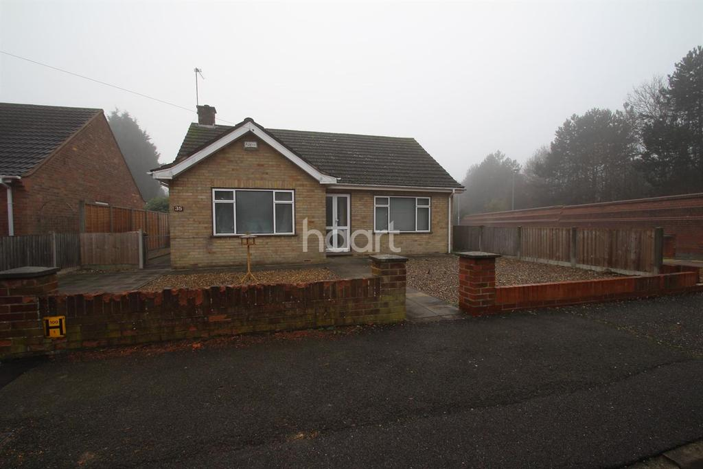 2 Bedrooms Bungalow for sale in Franklyn Crescent, Peterborough