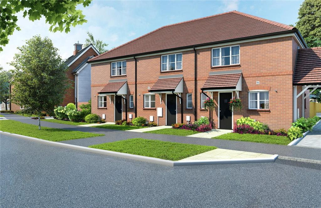 2 Bedrooms End Of Terrace House for sale in The Chichester Galdenbrook, Shopwyke Lakes, Shopwhyke Road, Chichester, PO20