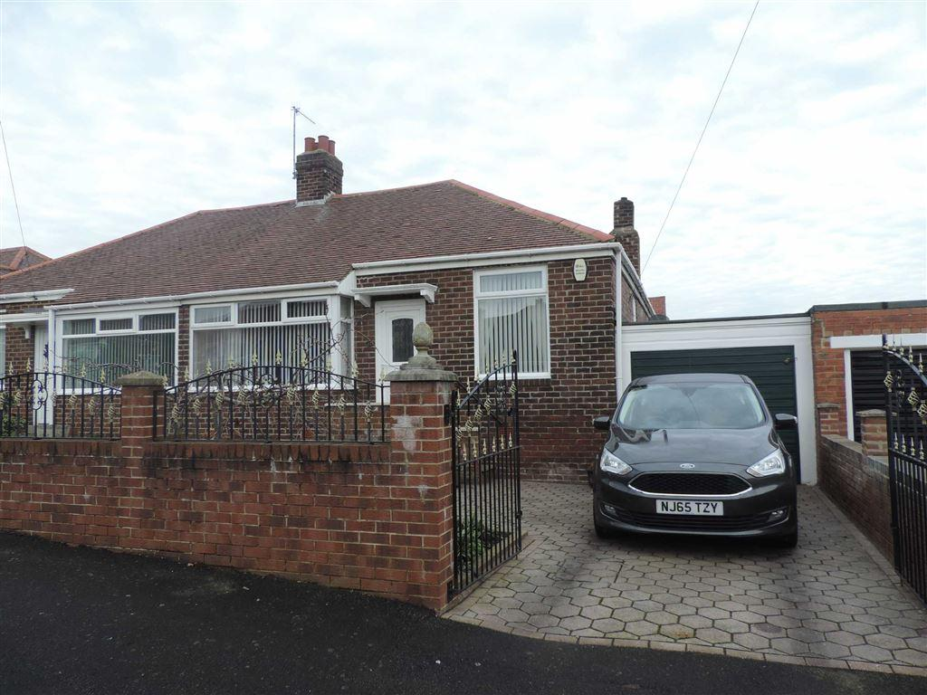 3 Bedrooms Semi Detached Bungalow for sale in Pinewood Gardens, Lobley Hill, Tyne And Wear
