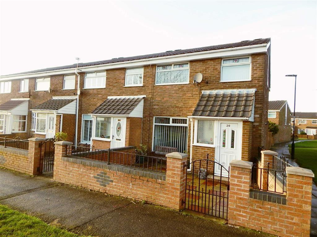 3 Bedrooms Terraced House for sale in Blandford Way, Battle Hill, Wallsend, NE28