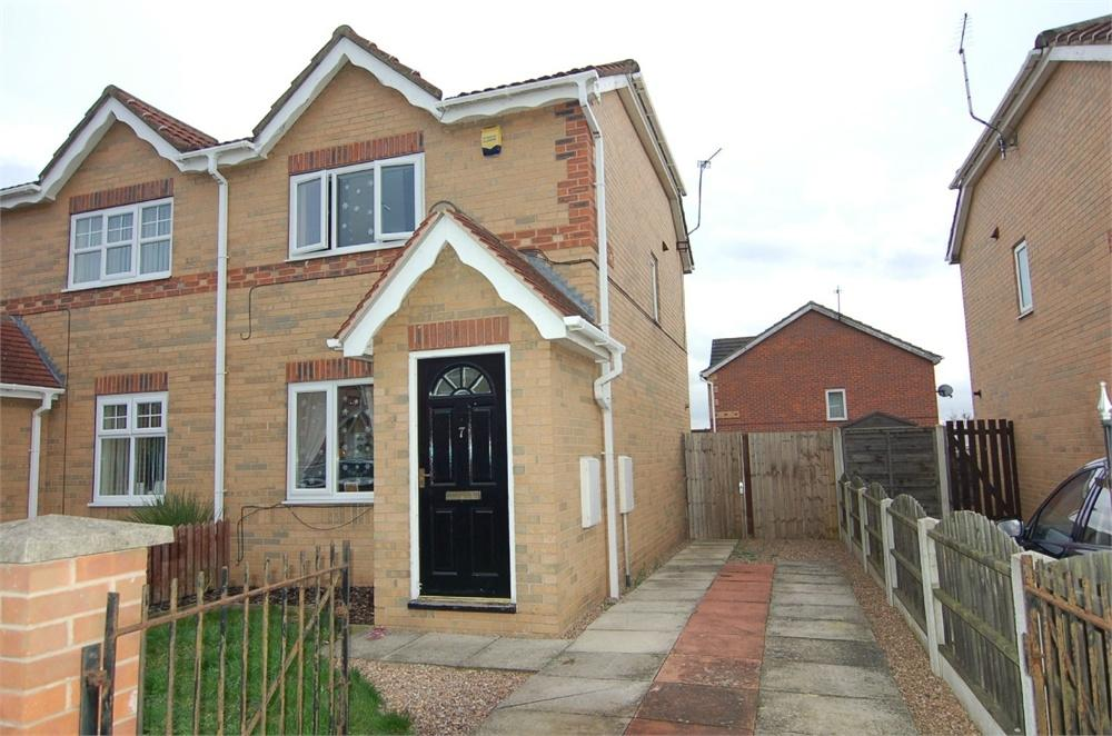 2 Bedrooms Semi Detached House for sale in Carr Furlong, BARNSLEY, South Yorkshire