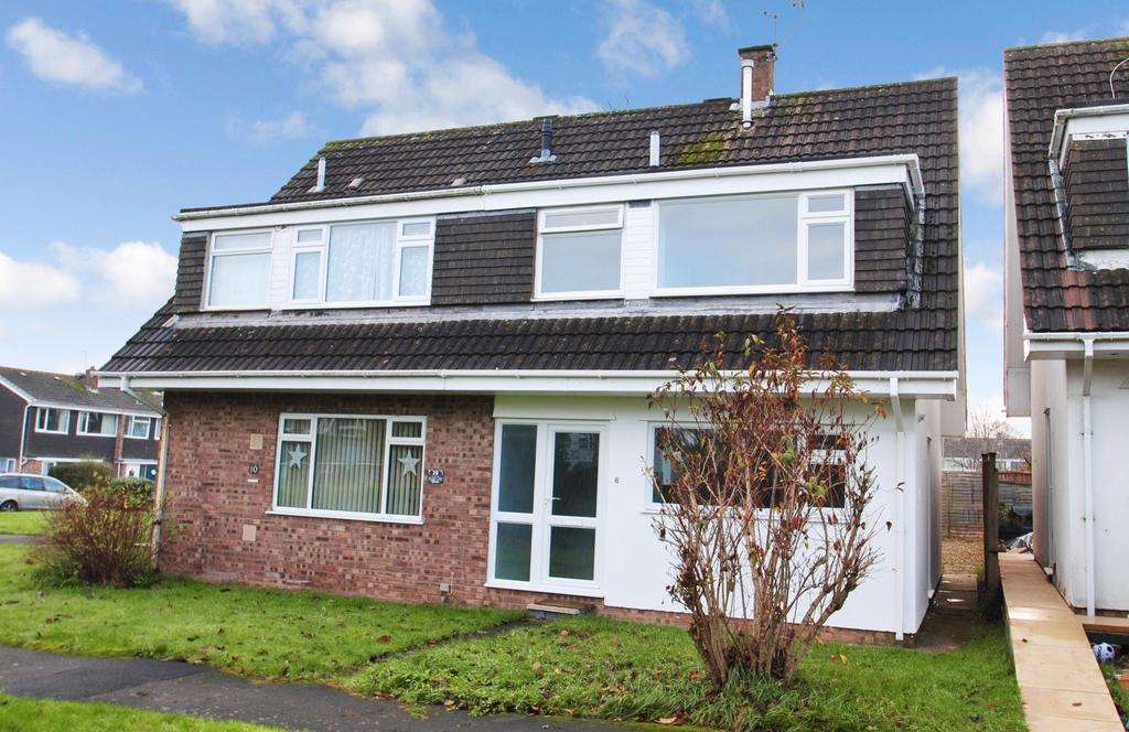 3 Bedrooms Semi Detached House for sale in Ashill Close, Taunton