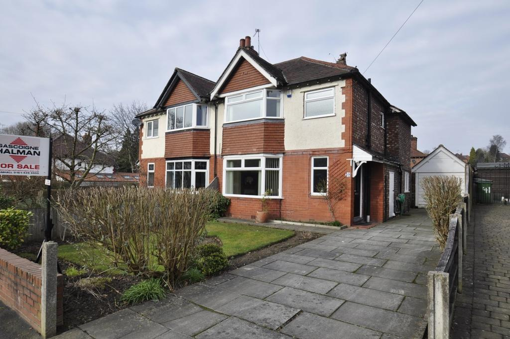 3 Bedrooms Semi Detached House for sale in Bridge Lane, Bramhall