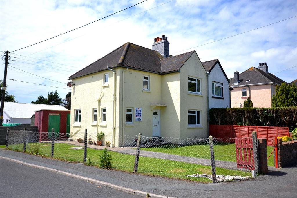 3 Bedrooms Semi Detached House for sale in Summerhill, Stepaside, Narberth