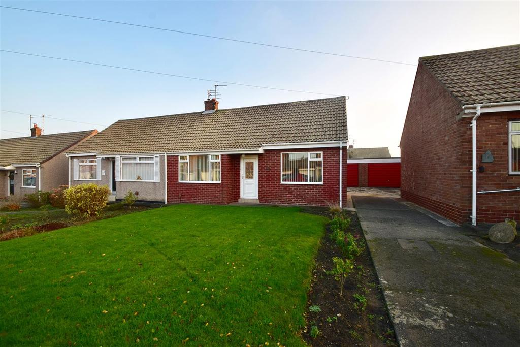 2 Bedrooms Semi Detached Bungalow for sale in Glendale Road, Shiremoor,