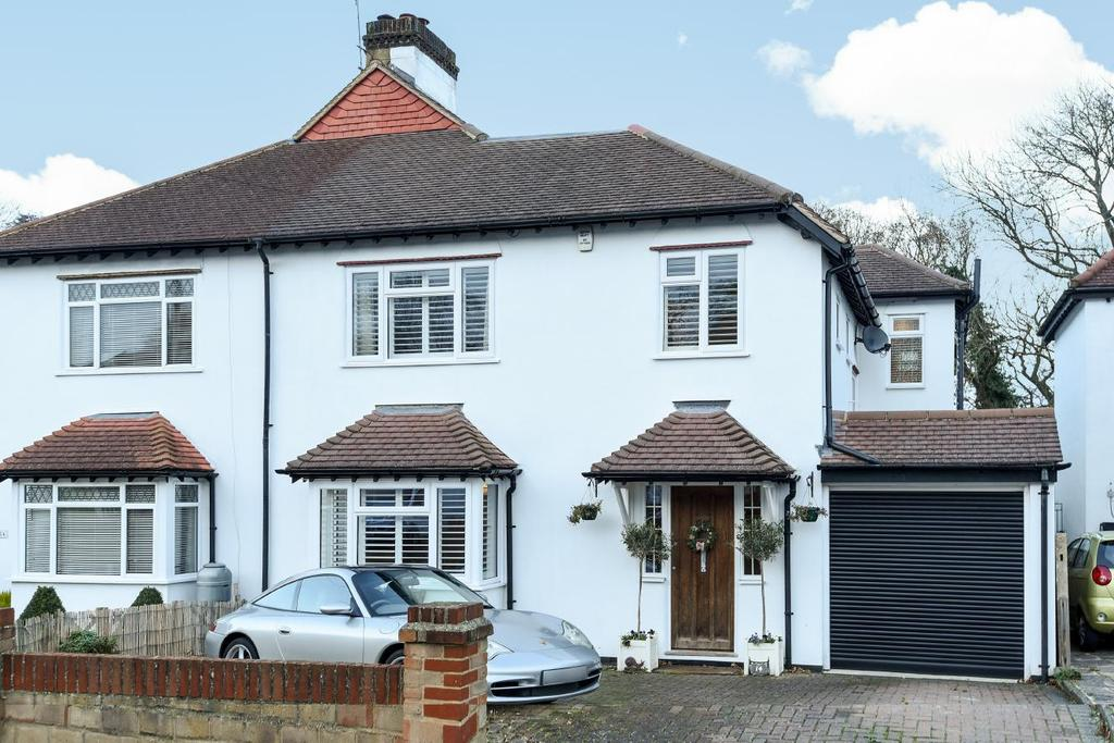 4 Bedrooms Semi Detached House for sale in Arragon Gardens, West Wickham, BR4