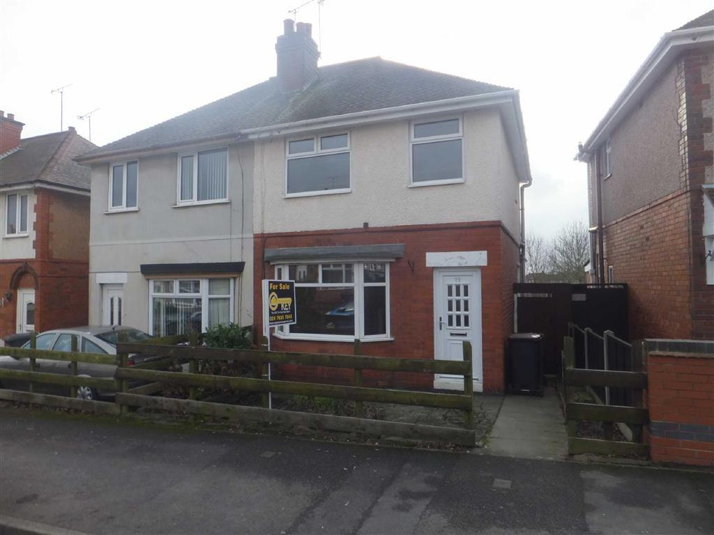 2 Bedrooms Semi Detached House for sale in Hollystitches Road, Nuneaton, Warwickshire, CV10