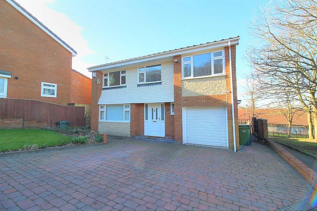 5 Bedrooms Detached House for sale in Shotley Gardens, Low Fell