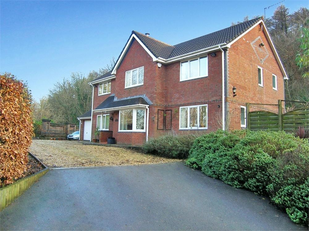 4 Bedrooms Detached House for sale in Lon Stephens, Taffs Well, Cardiff