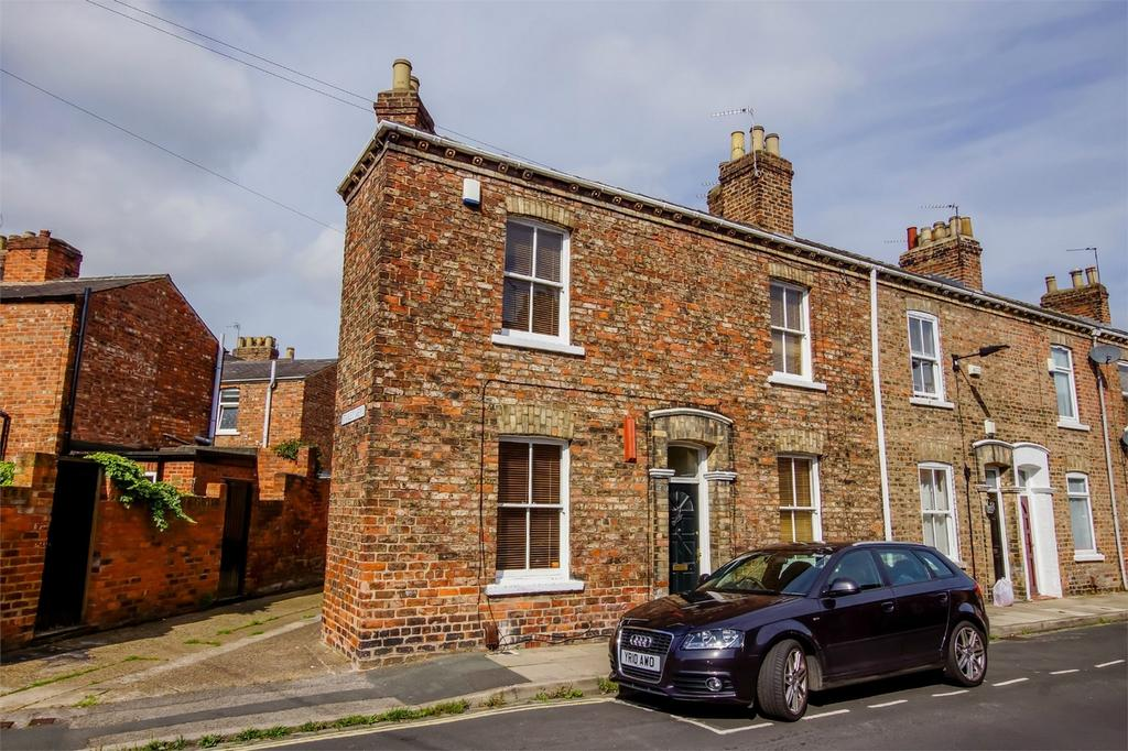 2 Bedrooms End Of Terrace House for sale in Warwick Street, Haxby Road, YORK