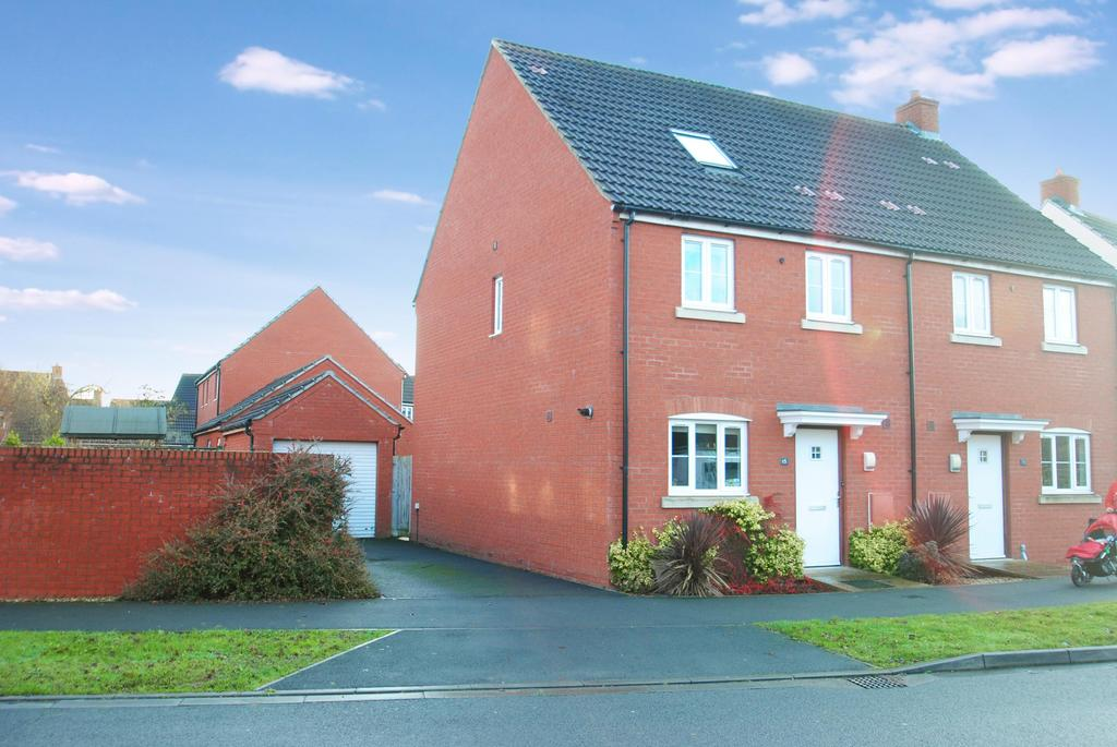 5 Bedrooms Semi Detached House for sale in Stockmoor Drive, Bridgwater