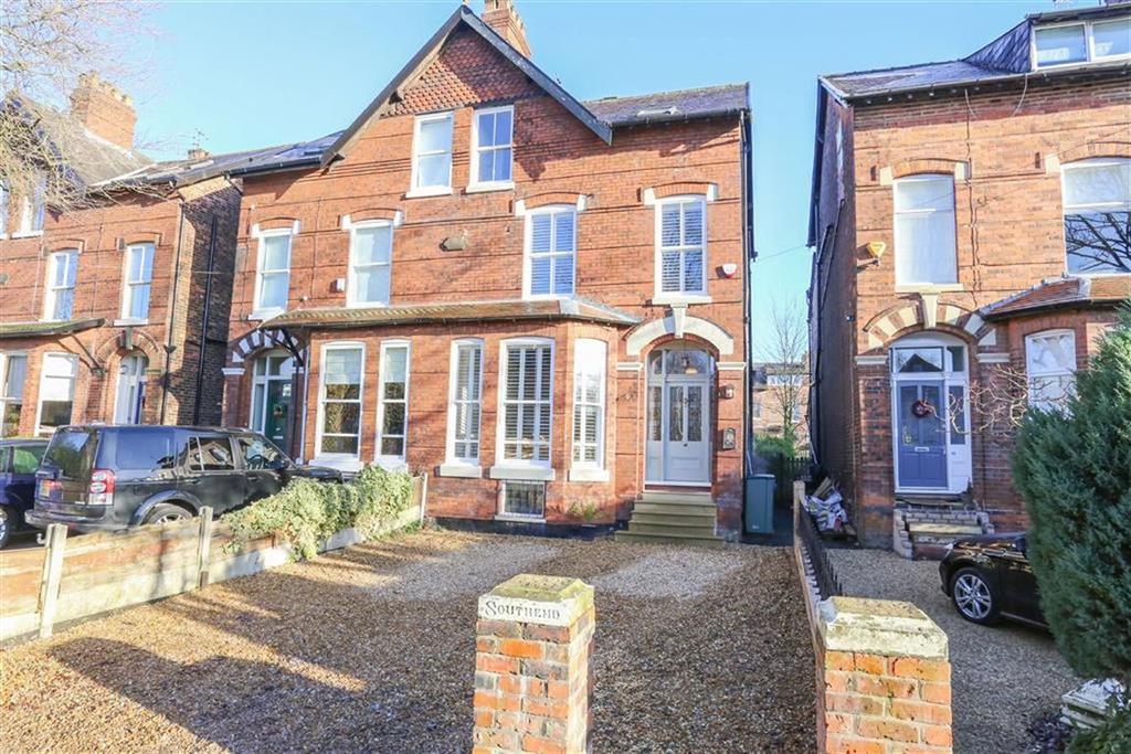 4 Bedrooms Semi Detached House for sale in Derby Road, Heaton Moor
