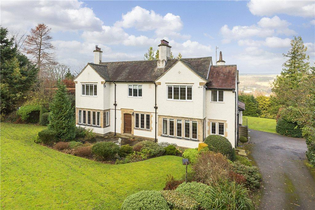 5 Bedrooms Detached House for sale in Cranford, Queens Drive, Ilkley, West Yorkshire