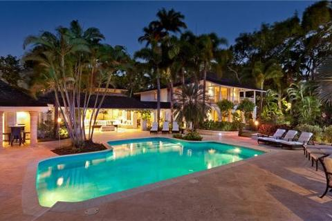 8 bedroom house  - Bluff House and Cottage, Sandy Lane, St. James, Barbados