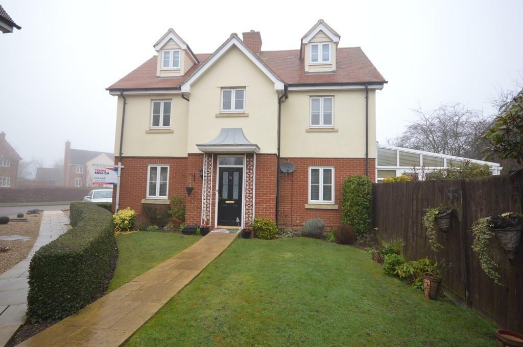 4 Bedrooms Detached House for sale in Gratian Close, Highwoods