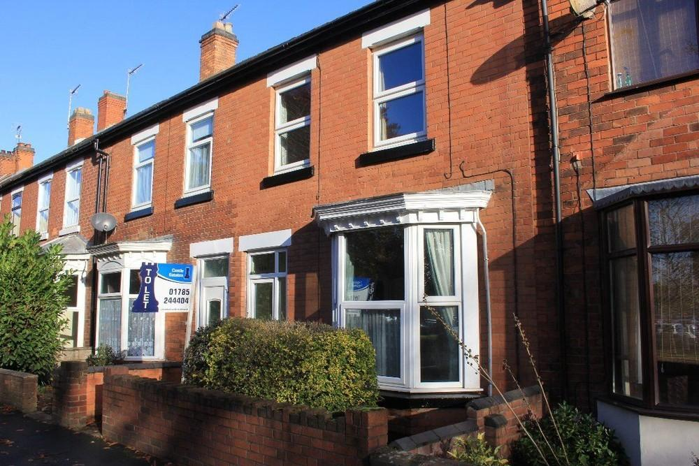 3 Bedrooms Terraced House for rent in Corporation Street, Stafford, Staffordshire, ST16 3LS