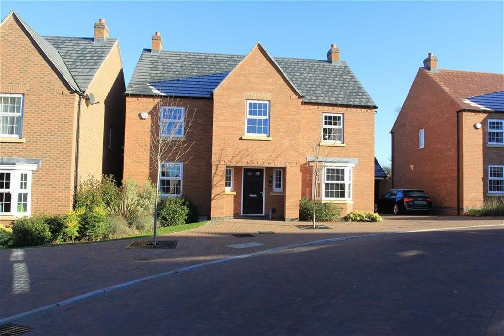 4 Bedrooms Detached House for sale in Slatewalk Way, Glenfield, Leicester