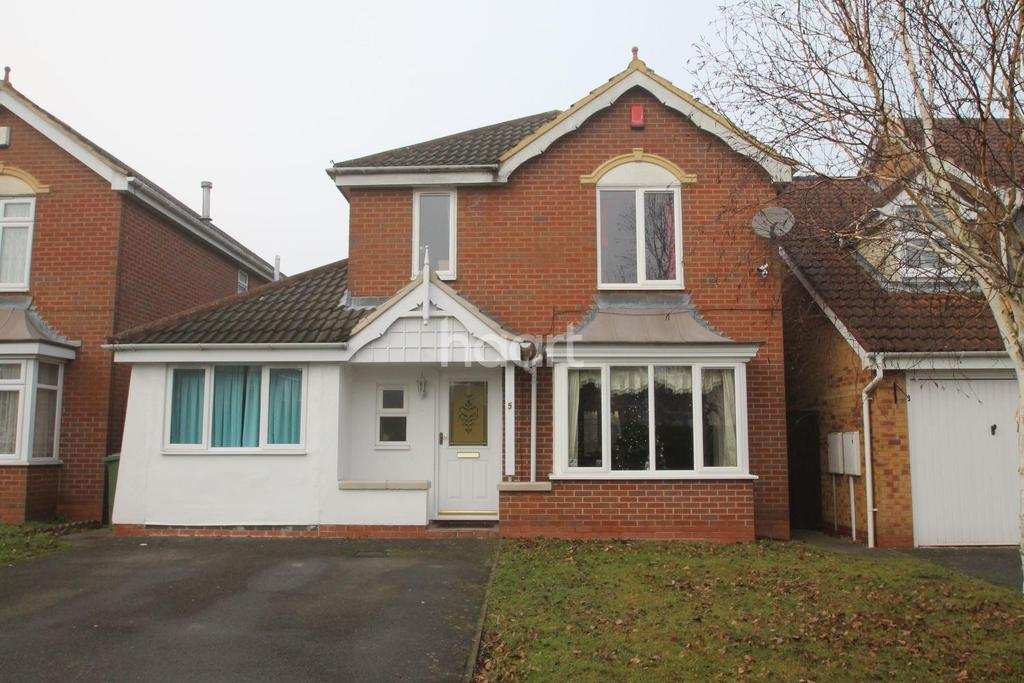 5 Bedrooms Detached House for sale in Cooke Close, Thorpe Astley, Leicester