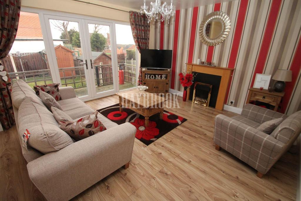 2 Bedrooms Semi Detached House for sale in Strauss Crescent, Maltby