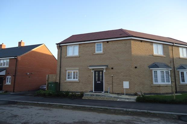 3 Bedrooms Semi Detached House for sale in Barrowcliff Way, Blaby, Leicester, LE8