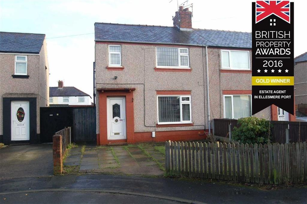 2 Bedrooms Semi Detached House for sale in Glenwood Gardens, Little Sutton, CH66