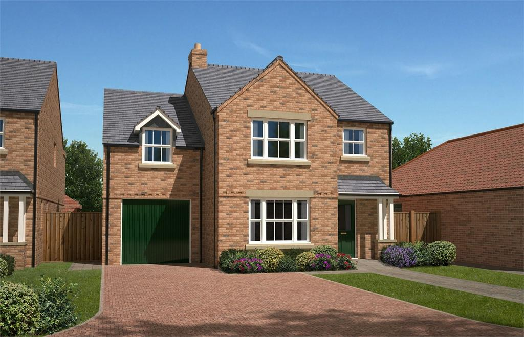 4 Bedrooms Detached House for sale in Springfield Close, Green Lane, North Duffield