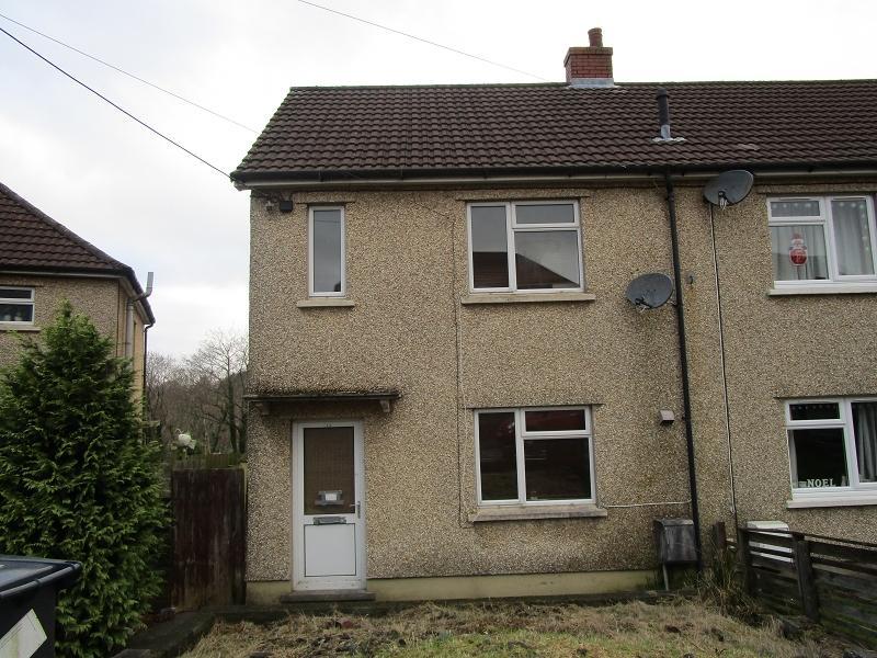 2 Bedrooms Semi Detached House for sale in Lluest , Ystradgynlais, Swansea.