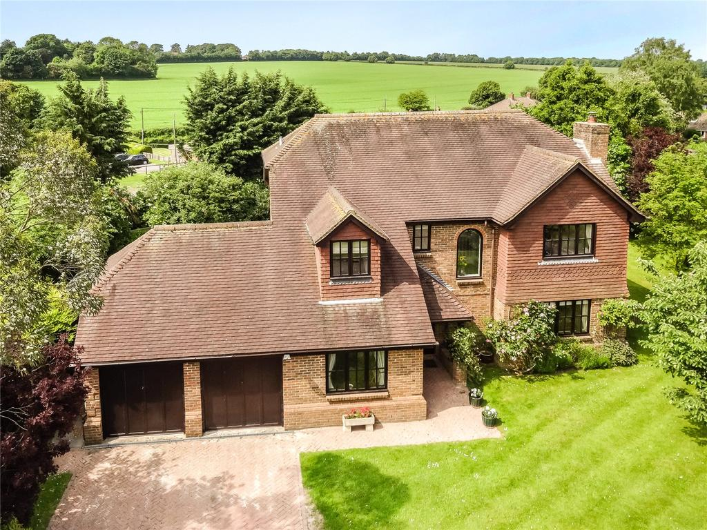 4 Bedrooms Detached House for sale in South Hill, Upton Grey, Basingstoke, Hampshire, RG25