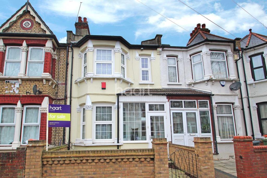 3 Bedrooms Terraced House for sale in Churston Avenue, Upton Park