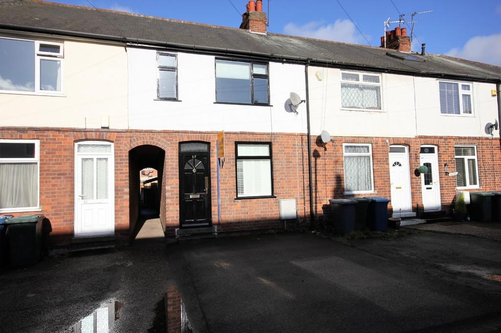 3 Bedrooms Terraced House for sale in Bradmore Avenue, Ruddington