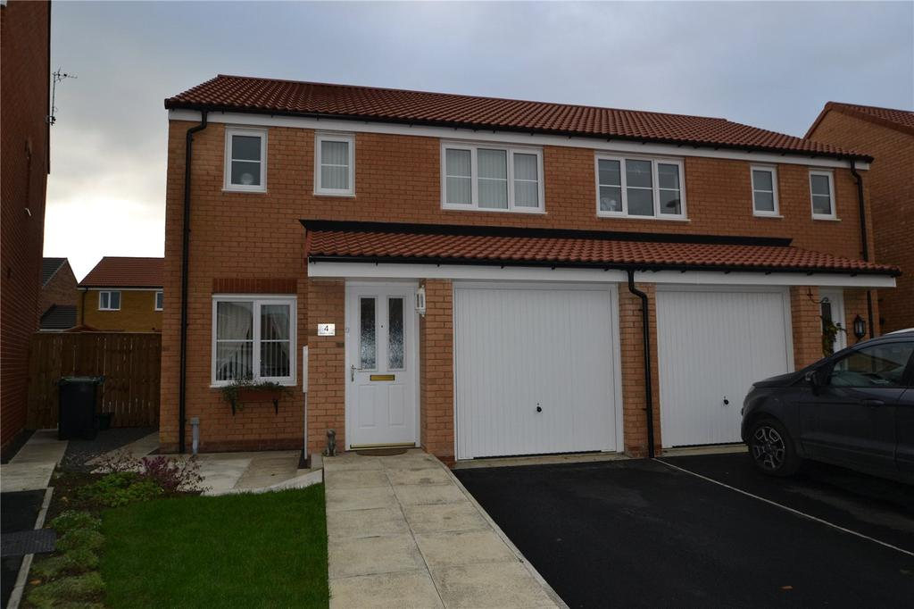 3 Bedrooms Semi Detached House for sale in Rosebay Close, Shotton, County Durham, DH6
