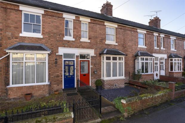 2 Bedrooms House for sale in Alma Street, Shrewsbury, Shropshire