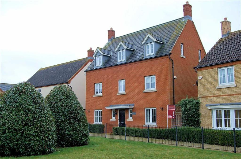 5 Bedrooms Detached House for sale in Lily Walk, Lower Stondon, Bedfordshire
