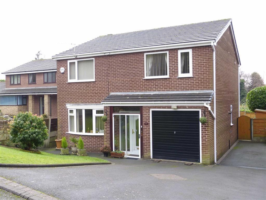 4 Bedrooms Detached House for sale in The Sycamores, Hadfield, Glossop