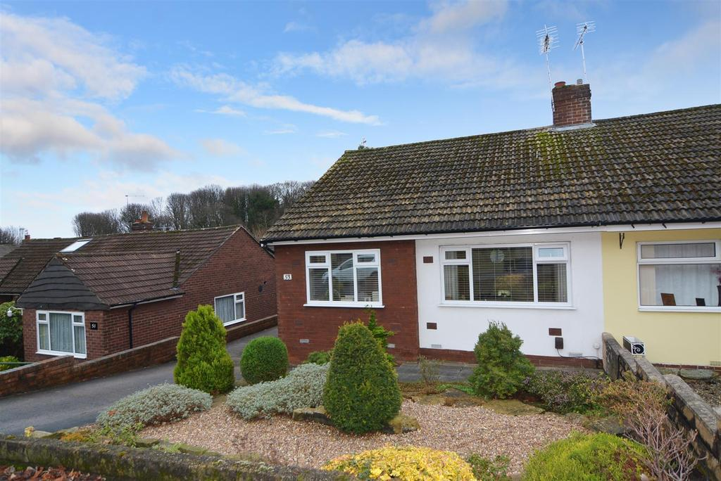 2 Bedrooms Semi Detached Bungalow for sale in Priesthorpe Road, Farsley