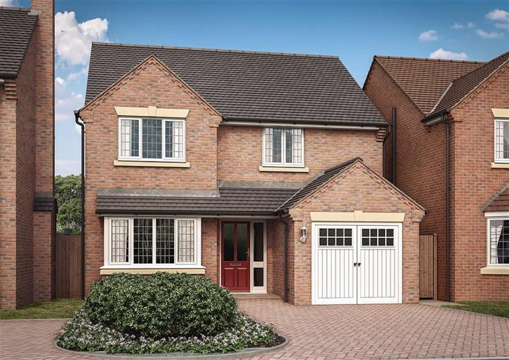 4 Bedrooms Detached House for sale in Hall Gate, Glenfield