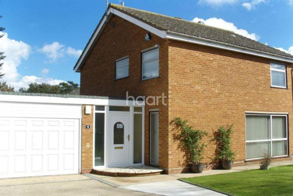 4 Bedrooms Detached House for sale in Mallowhayes Close, Ipswich, IP2