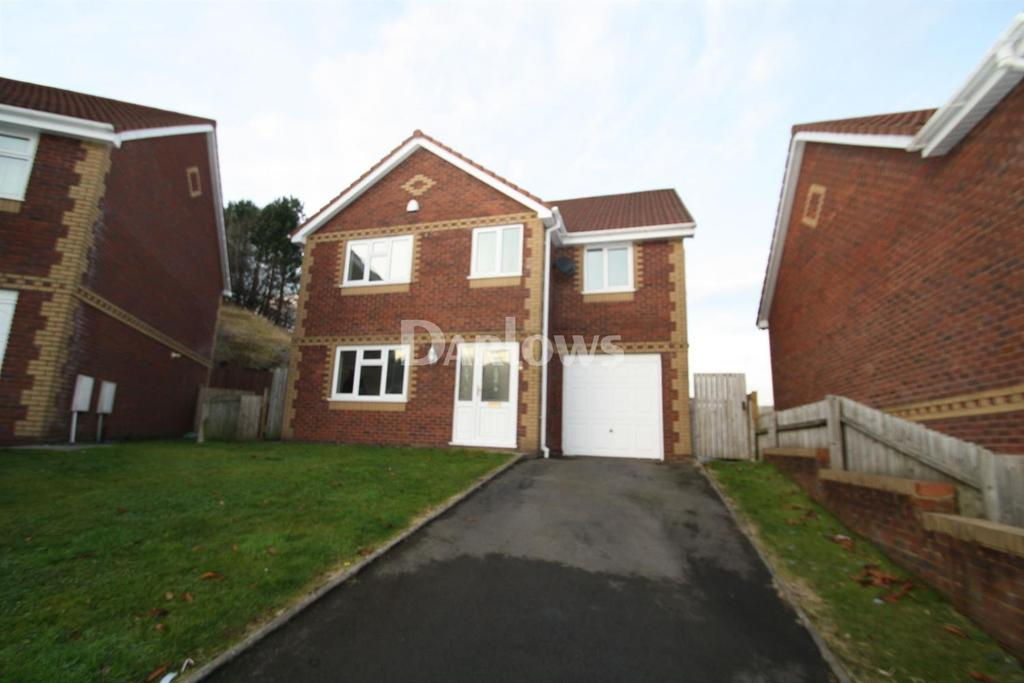 4 Bedrooms Detached House for sale in North Rising, Pontlottyn
