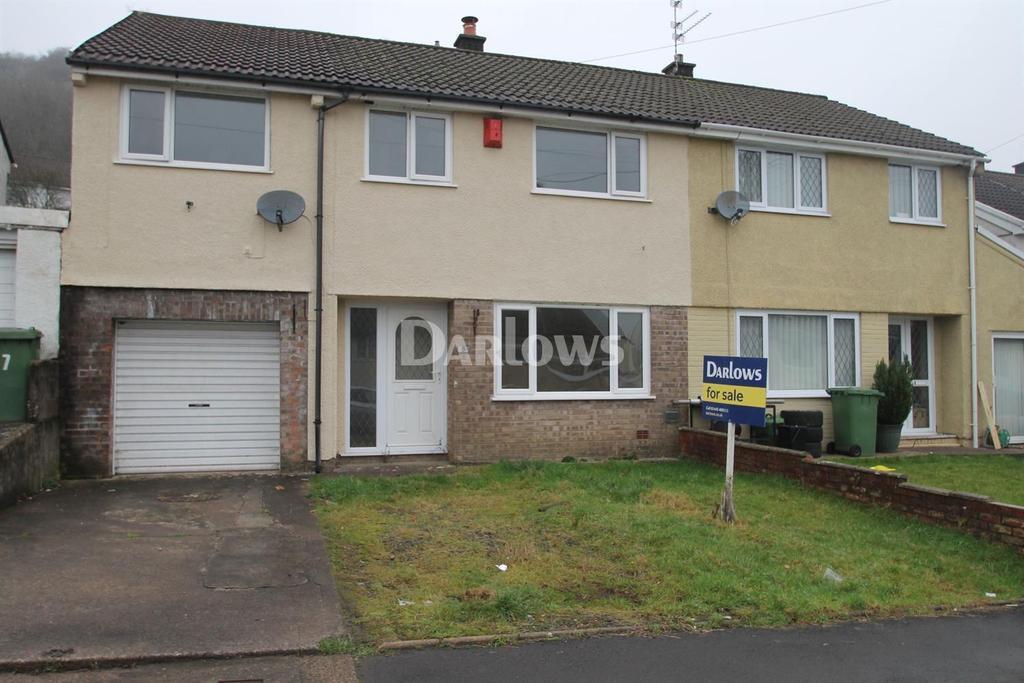 4 Bedrooms Semi Detached House for sale in Pen -Y -Darren Close, Graigwen