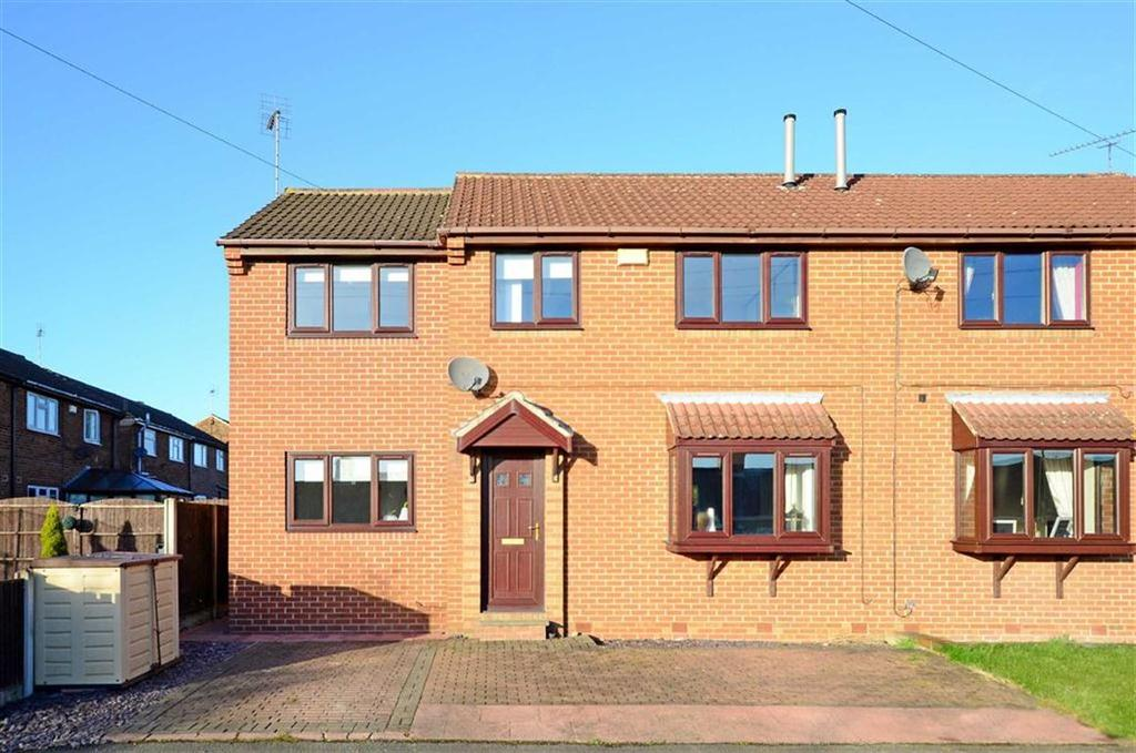 4 Bedrooms Semi Detached House for sale in 8, West View, Barlborough, Chesterfield, Derbyshire, S43