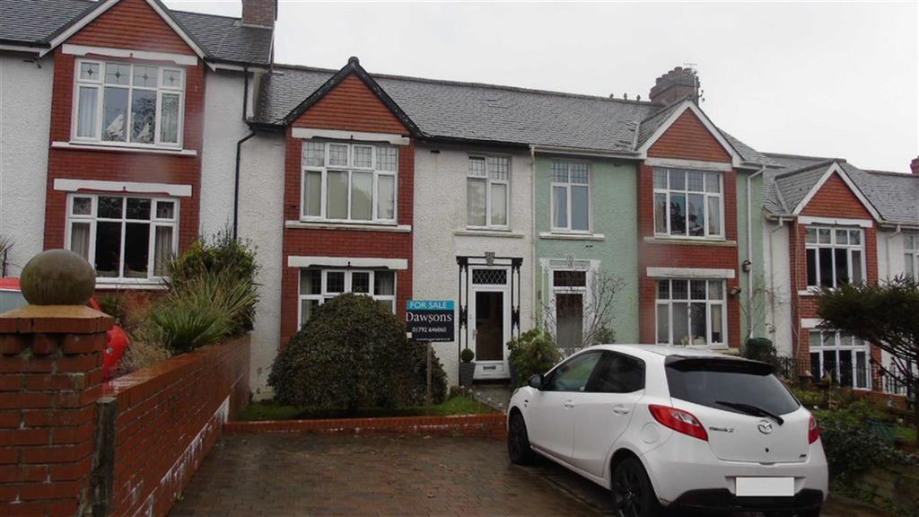 4 Bedrooms Terraced House for sale in Penlan Crescent, Swansea, SA2