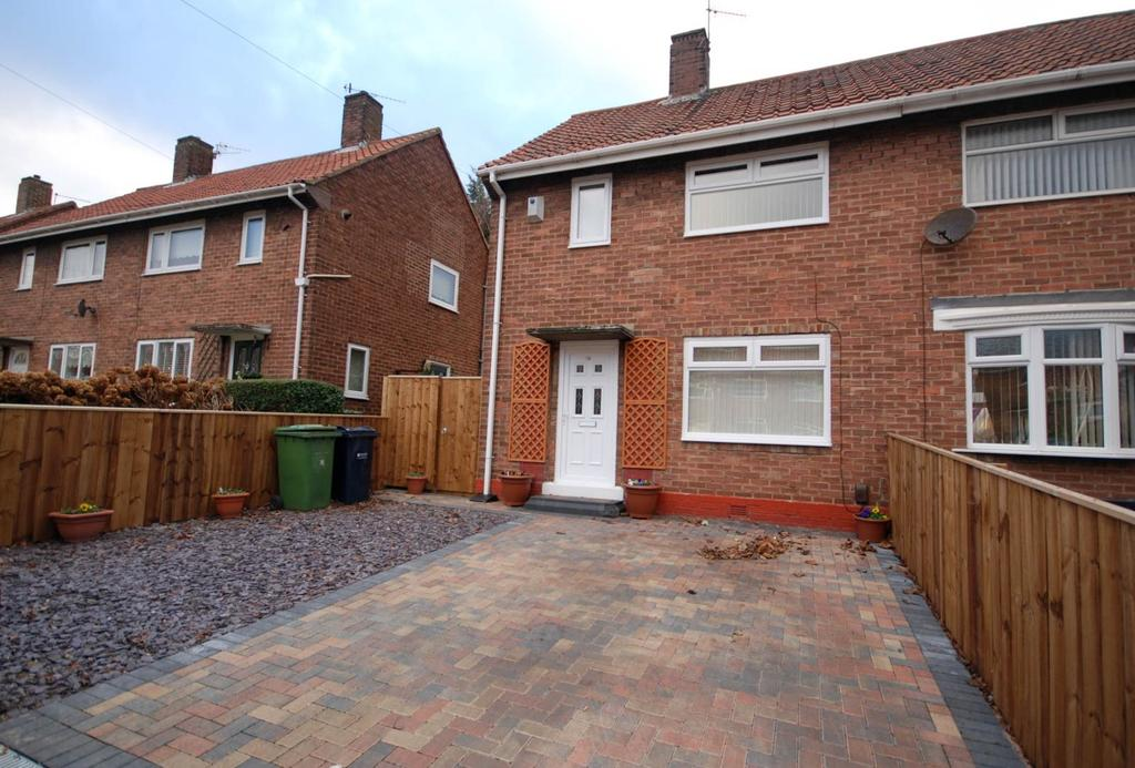 2 Bedrooms Semi Detached House for sale in Malvern Gardens, Gateshead