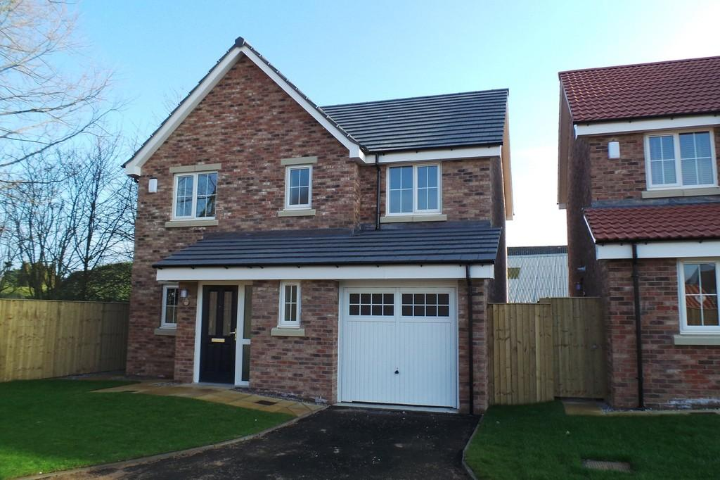4 Bedrooms Detached House for sale in PLOT 23, ROSEWOOD VALE, HAMBLETON, SELBY, YO8 9DG
