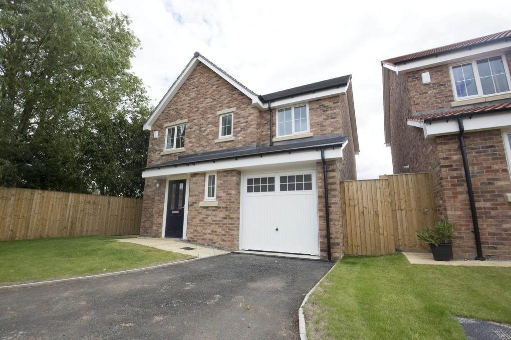 4 Bedrooms Detached House for sale in PLOT 23, ROSEWOOD VALE, HAMBLETON, SELBY, YO8 9GJ