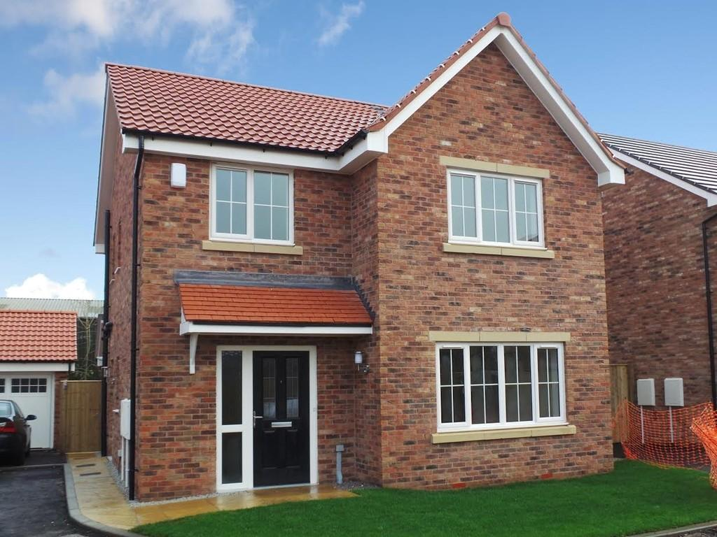 4 Bedrooms Detached House for sale in PLOT 25, ROSEWOOD VALE, HAMBLETON, YO8 9QQ