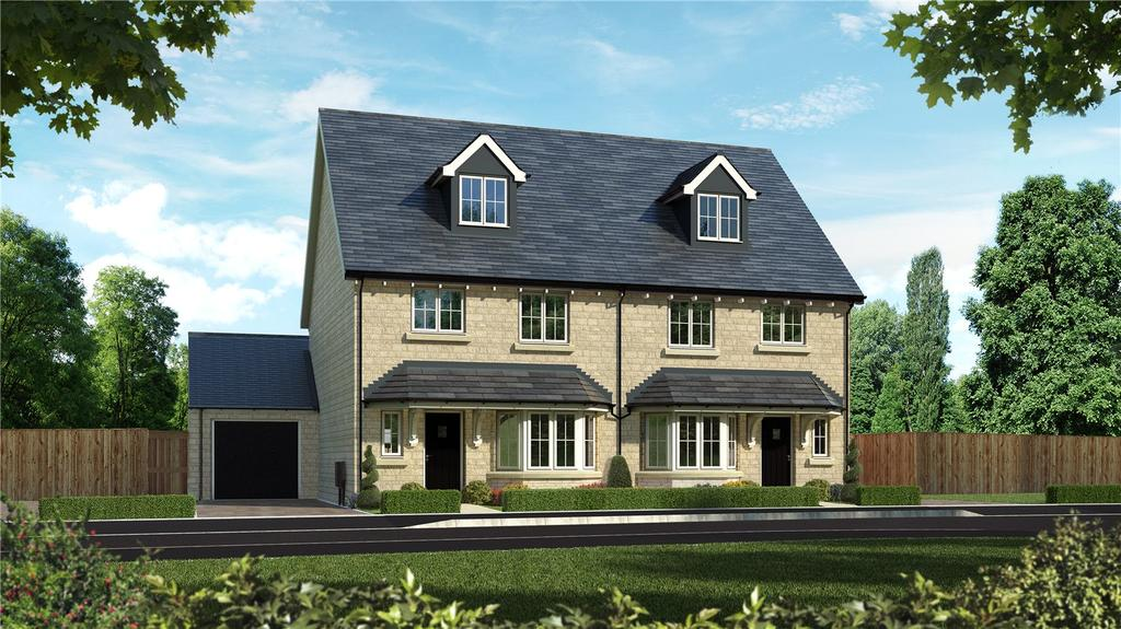 4 Bedrooms Semi Detached House for sale in Oakwood Gate, New Road, Bampton, Oxfordshire, OX18