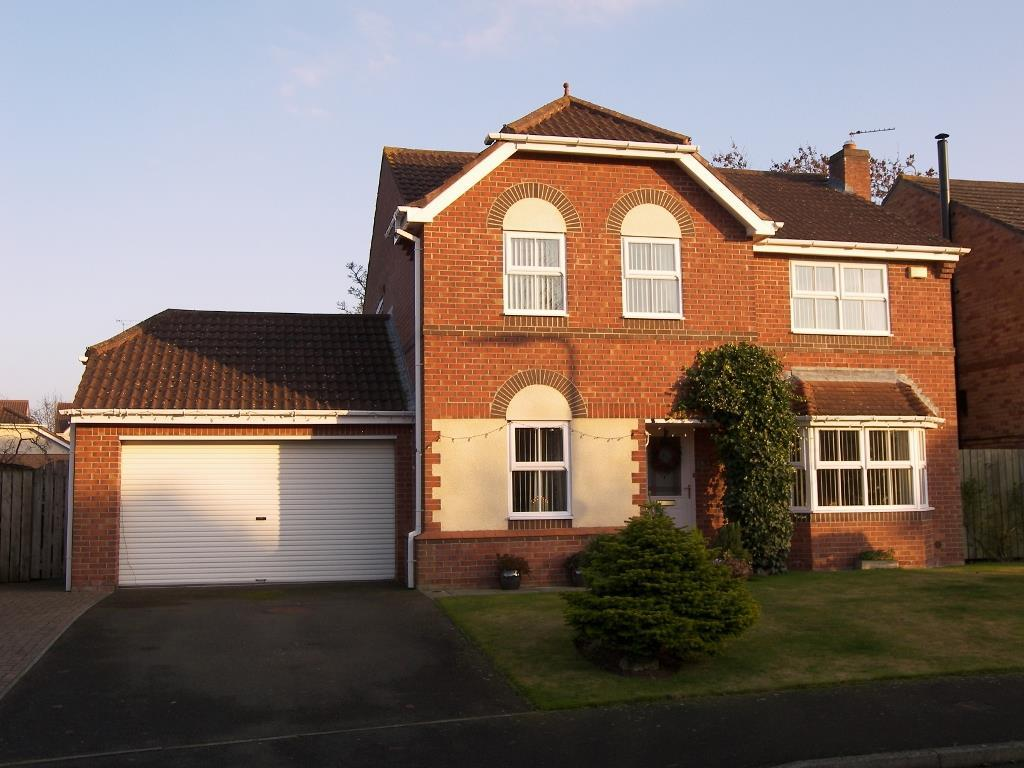4 Bedrooms Detached House for sale in Crookham Grove, Stobhill Manor, Morpeth