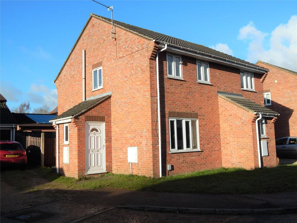 2 Bedrooms Semi Detached House for sale in Bateman Close, Harpsfield, Bowthorpe, Norwich