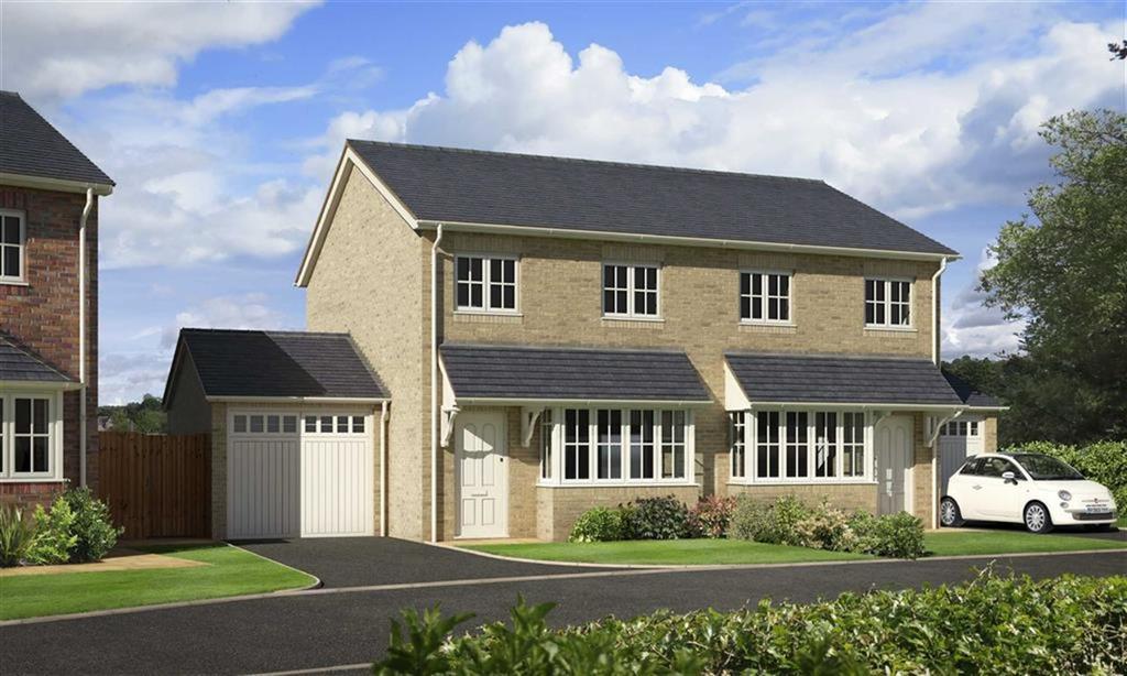 3 Bedrooms Semi Detached House for sale in Plot 21, Oakwood Grange, Weston Road, Oswestry, Shropshire, SY10