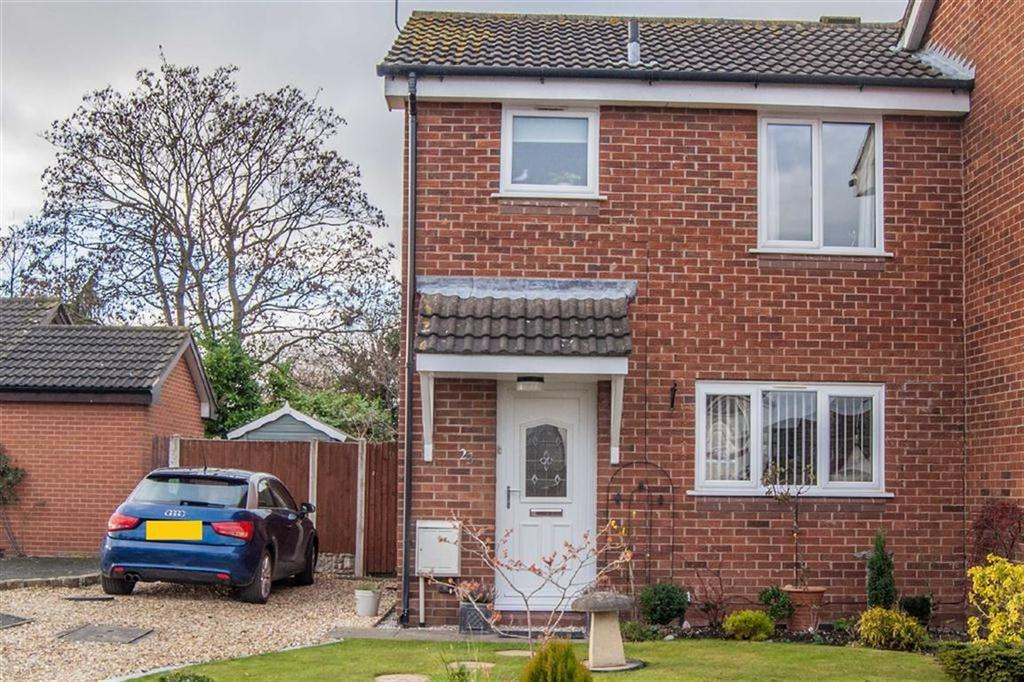 2 Bedrooms Semi Detached House for sale in Church Croft, Dodleston, Chester, Chester